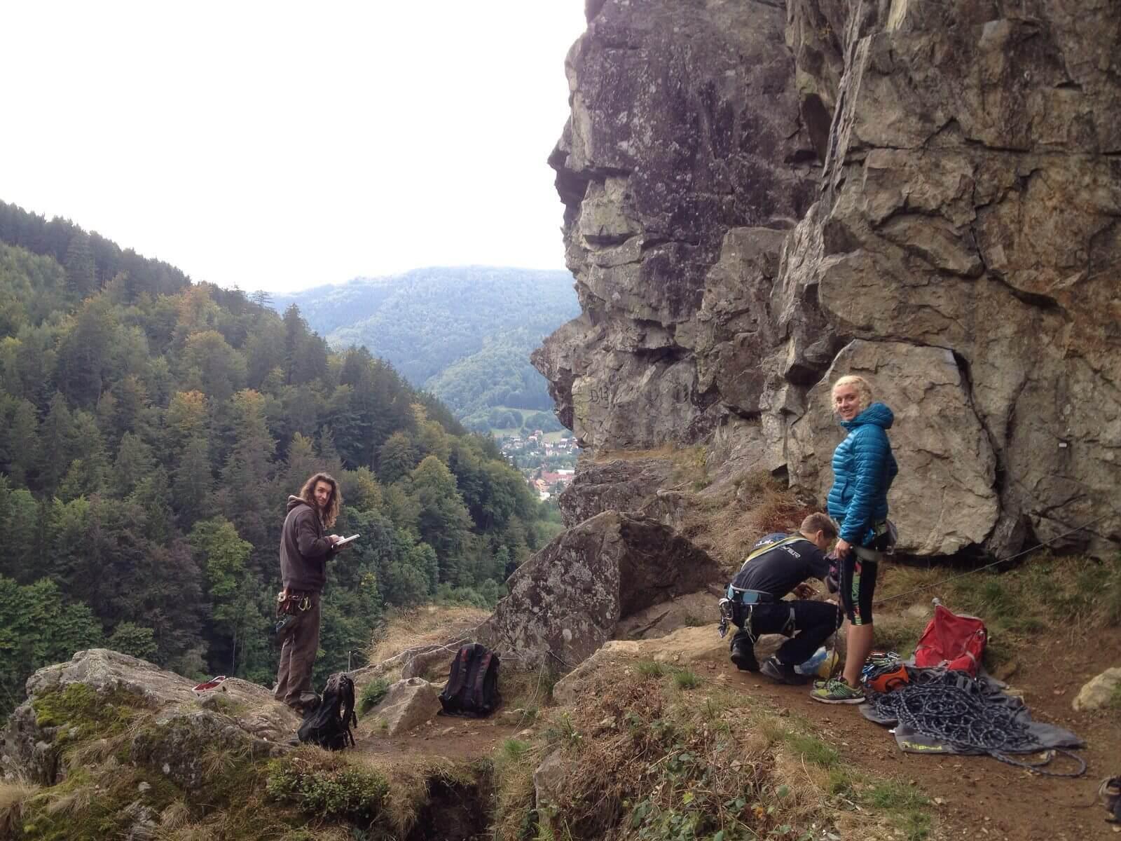 Klettersteig Todtnau : Geocaching log by die tummetotts for todtnauer klettersteig